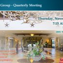 Quarterly Meeting – November 2017